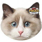 Pet Face Ragdoll Cat Cushion