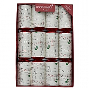 "Robin Reed Music Chimes 13"" Christmas Crackers Pack of 8"