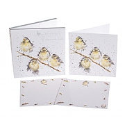 Wrendale 'Bird' Friends Notecard Pack