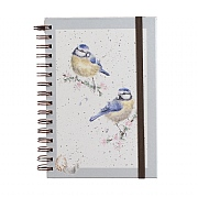 Wrendale 'Bluetits' A5 Spiral Notebook