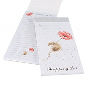Wrendale 'Mouse & Poppy' Shopping Pad