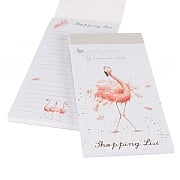 Wrendale 'Flamingo' Shopping Pad