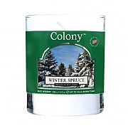 Wax Lyrical Colony Winter Spruce Candle Glass