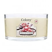 Wax Lyrical Colony Vanilla & Cranberry Multi Wick Candle