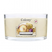 Wax Lyrical Colony Gold, Frankincense & Myrrh Multi Wick Candle