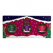 Wax Lyrical Set of 3 Christmas Fragranced Reed Diffusers Gift Set
