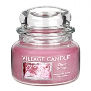 Village Candle Cherry Blossom Small 11oz Jar Candle