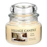 Village Candle Cozy Home Small 11oz Jar Candle