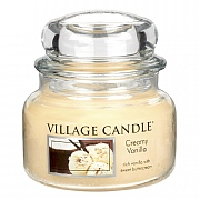 Village Candle Creamy Vanilla Small 11oz Jar Candle