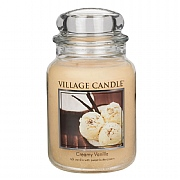 Village Candle Creamy Vanilla Large 26oz Jar Candle