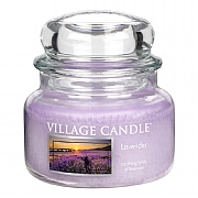 Village Candle Lavender Small 11oz Jar Candle