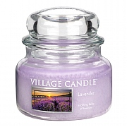 Village Candle Lavender Medium 16oz Jar Candle