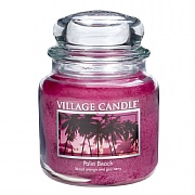 Village Candle Palm Beach Medium 16oz Jar Candle