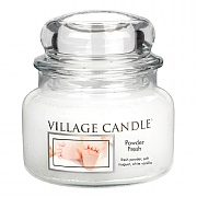 Village Candle Powder Fresh Small 11oz Jar Candle