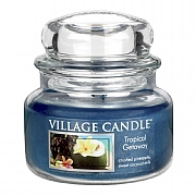 Village Candle Tropical Getaway Small 11oz Jar Candle