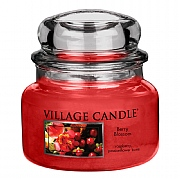 Village Candle Berry Blossom Small 11oz Jar Candle