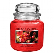 Village Candle Berry Blossom Medium 16oz Jar Candle