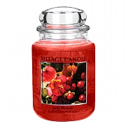 Village Candle Berry Blossom Large 26oz Jar Candle