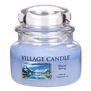 Village Candle Glacial Spring Small 11oz Jar Candle