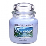 Village Candle Glacial Spring Medium 16oz Jar Candle