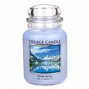 Village Candle Glacial Spring Large 26oz Jar Candle