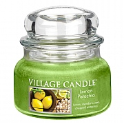 Village Candle Lemon Pistachio Small 11oz Jar Candle