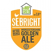 The Hop Shed Sebright Worcestershire Golden Ale 500ml