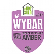 The Hop Shed Wybar Worcestershire Amber Ale 500ml