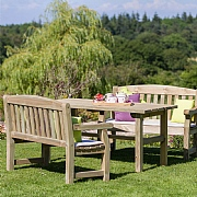 Zest 4 Leisure Emily Table & Bench Set