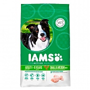 Iams ProActive Health Dog Adult Small/Medium Breed Chicken 7.5kg