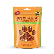 Pet Munchies Natural Duck Twists 80g