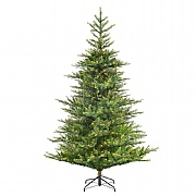 6ft Pre-Lit Grandis Fir Artificial Christmas Tree