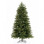 7ft Pre-Lit Narvik Slim Spruce Artificial Christmas Tree