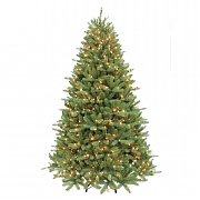 7ft Pre-Lit Ontario Fir Artificial Christmas Tree