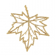Twig Maple Leaf Ornament 15cm