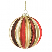 Glass Selina Bauble 8cm