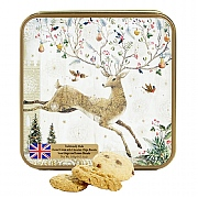 Grandma Wild's Embossed Jumping Stag Biscuit Tin 160g