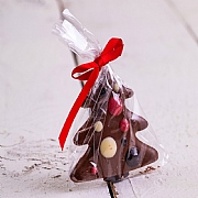 Food at Webbs Milk Chocolate Hanging Christmas Tree 30g