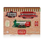 Premier Platform 53 Classic Christmas Train Set - Battery Operated (23 Pieces)