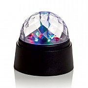 Crystal Ball Colour Changing LED 9x9cm