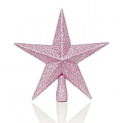 Pink Tree Top Star 20cm