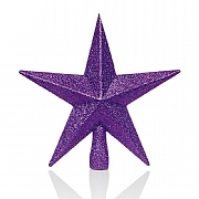 Purple Tree Top Star 20cm