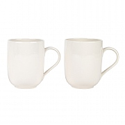 Alessi La Bella Tavola Porcelain Mugs Set of 2