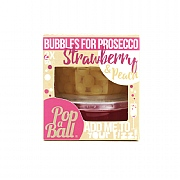 PopaBall Bursting Bubbles Duo For Prosecco - Strawberry & Peach