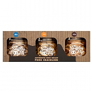 Snaffling Pig Sweet & Bold Pork Crackling 3 Jar Gift Set