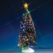 Lemax Evergreen Tree with 24 Multicoloured Lights