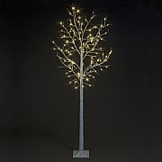 1.2m Pre-Lit LED Birch Tree