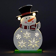 Snowman LED Decor