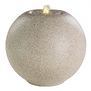 Granite Ball Fountain Cream 40x36cm