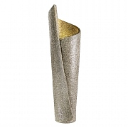 Spiral Flame Fountain Grey 27x28x96cm